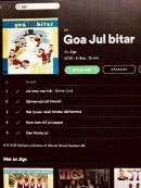 Ny Goa Jul bitar med Jigs med 5 låtar