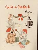 God Jul och Gott nytt år önskar vi alla Jigsvänner